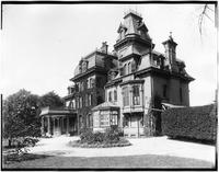 Staten Island: Anson Phelps Stokes House, between Hamilton Avenue and St. Mark's Place near Phelps Place, undated. Front view.
