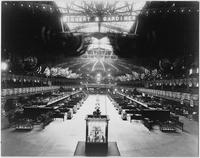 Manhattan: interior Madison Square Garden, with shoe manufacturers' convention installed in exhibition hall undated.