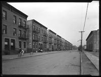 Apartment houses on 14th Avenue, Queens, undated (ca. 1920). Photographed for Parkes.