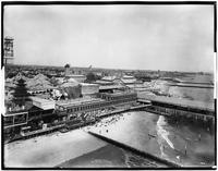 Brooklyn: Coney Island, 1910. Dreamland Bathing Pavilion and Balmer's Bathing Pavilion visible.