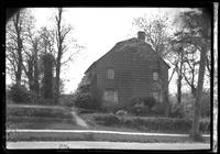 Manhasset / Roslyn / Little Neck / Douglaston / Alley Road, Long Island: [side view of large unidentified Dutch-style wood-shake house, undated.]