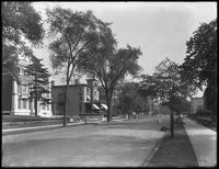 Clinton Avenue near Willoughby Avenue, Brooklyn, August 31, 1914. Photographed for the Success Postal Card Company.