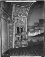 Manhattan: interior view of the New Amsterdam Theatre boxes stage right, undated.