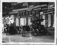 Manhattan: interior auto show at Madison Square Garden, undated [ca. 1904].