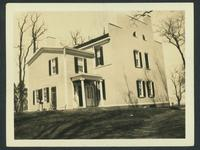 Coxsackie: Wheeler House, rear view, April 1923.