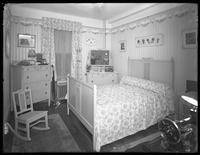 Second bedroom of a model apartment, New York City, May 6, 1915. Photographed for the United Electric Light & Power Company.