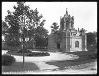 Chapel, Greenwood Cemetery, Brooklyn, September 1, 1914. Photographed for the Success Postal Card Company.
