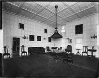 Bayshore, New York: living/drawing room, Sagtikos Manor House, undated (ca. 1902).