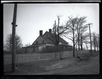 Long Island City: [George Kouwenhoven House, north side of Old Bowery Road, west of Blackwell Street, 1923.]