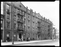 Apartment houses on Steinway Avenue, Astoria, Queens, undated (ca. 1920). Photographed for Parkes.