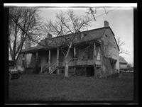Newtown: [unidentified old Dutch colonial house, undated.]