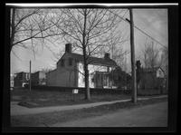 Newtown: [unidentified house converted to 'Middle Village Auto Painting,' undated.]