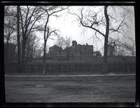 Long Island City: [unidentified large mansion set back from the road on extensive grounds, undated.]