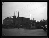 Newtown: [unidentified partly demolished buildings, undated.]