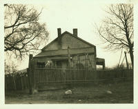Newtown: Abraham Remsen House, on the east side of Woodhaven Avenue north of Metropolitan Avenue, 1923. Gone by 1925.