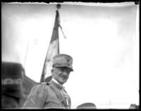 General Armando Diaz, undated. Probably at the dedication of the Simón Bolívar statue in Central Park, New York City, April 1921.