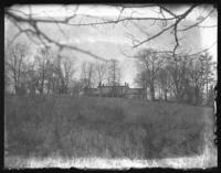 Distant view of an unidentified house, Eastchester, N.Y., undated (ca. 1920-1925).