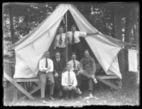 Bronx Union Group, Camp Oscanawa, Putnam County, N.Y., July, 1916.