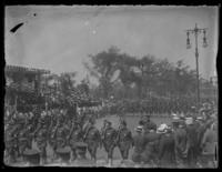 Soldiers marching in an unidentified parade, Washington, D.C. (?), undated (ca. 1917-1918).