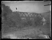 Railroad bridge, Cumberland, Maryland, May 1919.
