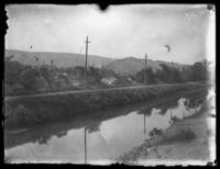 On the Chesapeake & Ohio Canal, Cumberland, Maryland, May 1919.