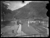 Lock on the Chesapeake & Ohio Canal, Harper's Ferry, West Virginia, May 1919.