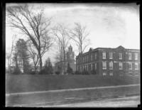 Unidentified school (?) buildings, Detroit, Michigan or Cleveland Ohio, undated (ca. 1919).