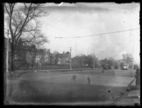 Unidentified street scene, Cleveland, Ohio, undated (ca. 1919).