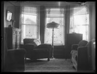 Bjorkman family living room, Yonkers. N.Y., undated (ca. 1924).