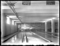Bowling alleys, Bronx Union Y.M.C.A, New York City, February 1916.
