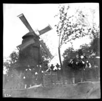 Dutch-themed parade float in unidentified parade, undated (ca. 1905-1915).