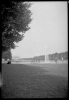 View of the National Mall looking toward the Lincoln Memorial, Washington, D.C., undated (ca. 1939). Probably during the 1937 Boy Scouts' National Jamboree.