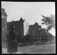 Unidentified military parade, New York City, undated (ca. 1905-1909).