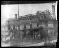 Philipse Manor Hall, Yonkers, N.Y., undated (ca. 1900-1909). Partial double exposure.