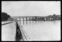 High Bridge over the Speedway and Harlem River, New York City, undated (ca. 1912).