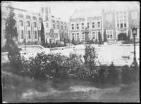 Goethals Hall and Baskerville Hall, City College of New York, New York City, undated (ca. 1900-1909).