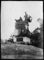'Rebelmen' statue, Monument Park, Fort Lee, New Jersey, undated (ca. 1908-1915)