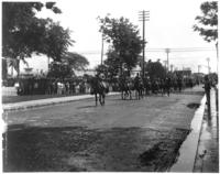 Welcome parade for the Taft party, Manila, undated [1905].