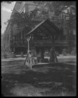 Well pump at the John Haven - Woodbury Langdon House, Riverside Drive and W. 181st Street, New York City, May 31, 1898.