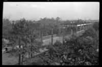 Fifth Avenue El, Brooklyn, September 26, 1941. View from the B.M.T. building, showing progress since September 19, 1941.