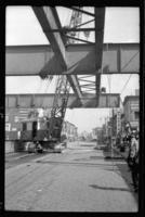 Fifth Avenue El, Brooklyn, at 18th Street, September 26, 1941. Demolition progress.