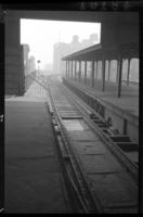 Sands Street station, Brooklyn, at High Street station east bound, June 7, 1941.