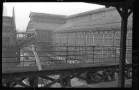 Sands Street station, Brooklyn, at High Street station, June 7, 1941. View showing both east and west bound tracks.