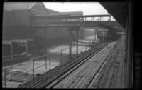 Sands Street station, Brooklyn, June 7, 1941. View of the Kings County Line station showing the east bound platform.