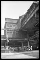 Sands Street station, Brooklyn, June 7, 1941. Northeast view.