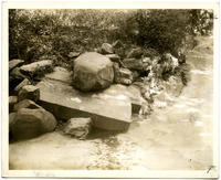 'Dr. Tanner's Well' [Tanner's Spring], Central Park, in line with W. 82nd Street, New York City, September 28, 1897