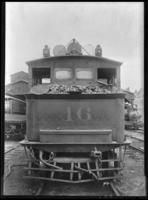 Brooklyn Rapid Transit KC locomotive  no. 46, July 30, 1940. Built by Grant in 1888.
