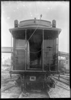 Brooklyn Rapid Transit / Brooklyn Union Elevated Railroad supply car 695, July 30, 1940.