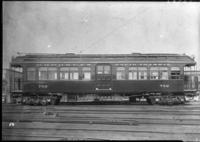 Brooklyn Rapid Transit / Kings County Elevated Railroad car 750, July 30, 1940. Built by Pullman in 1888.