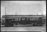 Brooklyn Rapid Transit / Brooklyn Union Elevated railroad car 805, July 30, 1940. Built by Pullman in 1884.